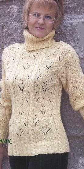 Как связать простой свитер?