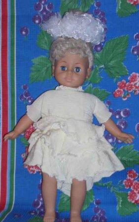 Как быстро сшить платье для куклы фото 122