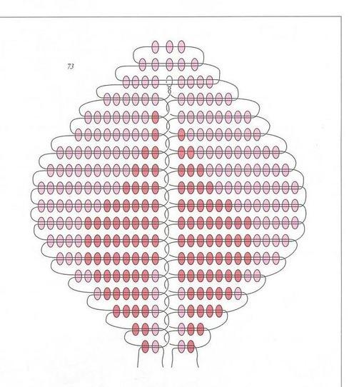 Схема цветка розы из бисере