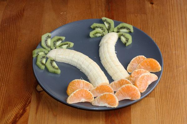 Как красиво фрукты