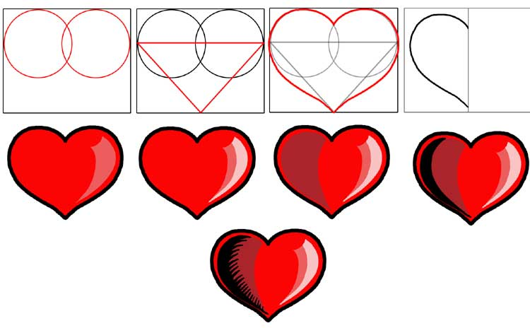 Что означает если я рисую сердечки