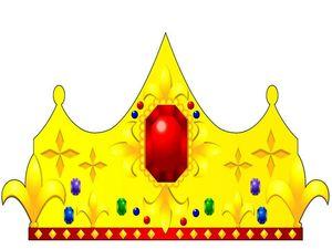 Как сделать корону для короля из картона