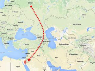 как добраться до Египта без самолета?