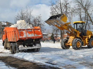Вывоз снега недорого