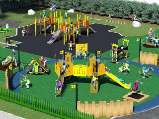 Какая необходимость в возведении детских и спортивных площадок в городах?