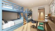 Детские двухъярусные кровати - идеально решение для малометражных квартир
